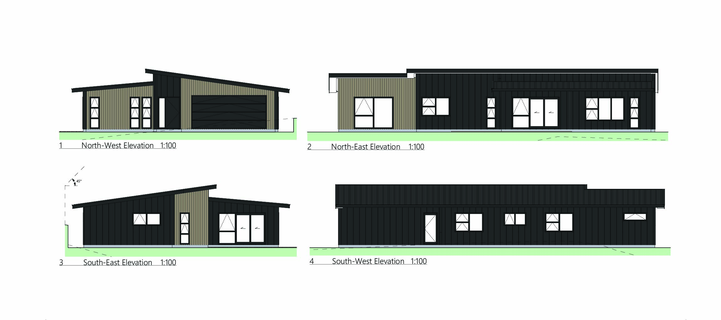 new homes in churton park elevations